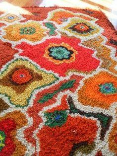Wayward Creating: hand hooked rugs