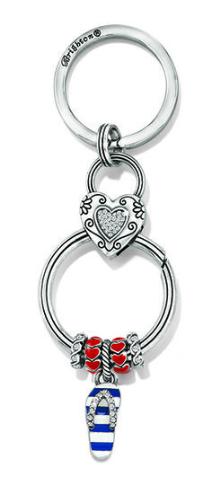 Adapt to a Necklace? Brighton Flip Flop Charm and Keyfob #PandoraStyle #CharmPendant