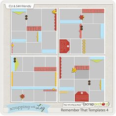 Remember That Templates 4 by Scrapping with Liz #digitalscrapbook #digiscrap