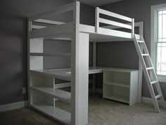 I build this Dream Study Loft Bed. loftmonkeycleveland @ gmail.com facebook.com/loftmonkey