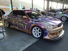 Tuner Cars, Jdm Cars, Vinyl Wrap Car, Jdm Wallpaper, Street Racing Cars, Drifting Cars, Japan Cars, Car Wrap, Custom Cars