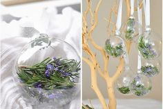 Fill will winter greens for a natural Christmas ornaments. Via The Cheese Thief: Rosemary Filled Ornaments Diy Christmas Ornaments, Christmas Balls, Simple Christmas, Christmas Tree Decorations, Handmade Christmas, Holiday Crafts, Merry Christmas, Natural Christmas, Christmas Trees