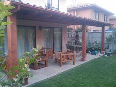 QUINCHO C.RAMIREZ  Q Outdoor Kitchen Bars, Outdoor Kitchen Design, Patio Design, Blessed Mother, Backyard Patio, Ideas Para, Bbq, Cases, Outdoor Structures