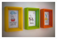 3 picture frames serie