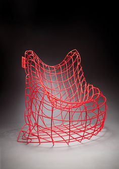 ♂ Product design unique red chair