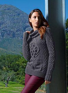 Ravelry: Cat. 13/14 - #710 - Sweater pattern by Bergère de France