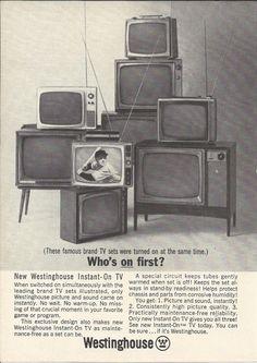 Westinghouse television 1954 loving pics pinterest - Westinghouse muebles ...