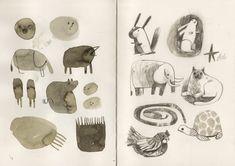 sketchbook - felicita sala