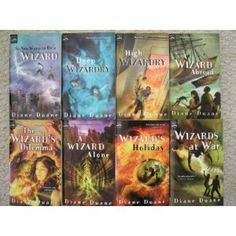 Young Wizards series by Diane Duane. Ah, my childhood. She has a surprisingly deep knowledge of science-nonsense.