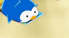 Cute little penguin! >w< Idk what show this is from D: But I like how the color is on his tummy