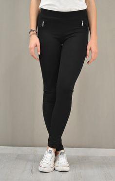 Γυναικείο παντελόνι leggings | Κολαν - Παντελόνια - Γυναίκα | Black Jeans, Skinny Jeans, Pants, Fashion, Trouser Pants, Moda, Fashion Styles, Black Denim Jeans, Women's Pants