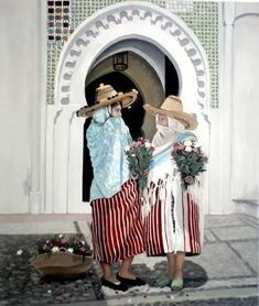 Moroccan Jbala ( Moroccan's from a prticular reagion in the north) I am a Jablia . I adore their traditional outfit Marrakech, Tanger Morocco, African Home Decor, Moroccan Dress, Arab Women, Africa Art, Arabic Art, North Africa, Casablanca
