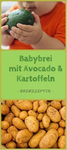 Rezept für Babybrei mit Avocado und Kartoffel Baby porridge with avocado and potatoes is a great lunch for the baby from the introduction of complementary foods. Incidentally, this mashed potato not o Avocado Dessert, Avocado Toast, Avocado Baby, Avocado Recipes, Healthy Recipes, Baby Food Recipes Stage 1, Snacks Sains, Lactation Recipes, Food Charts
