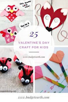 Looking for some adorable crafts to do with your kids this Valentine's Day? Check out these 25 Valentine's Day Craft for Kids here! Diy Valentines Day Wreath, Valentines Day Decorations, Valentines For Kids, Valentine Day Crafts, Valentine's Day Crafts For Kids, Craft Day, Printable Valentines Day Cards, Valentines Day Coloring, Cricut