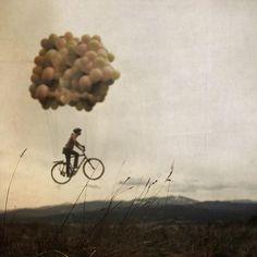 flying bycicle @Jorge Martinez Martinez Cavalcante (JORGENCA)