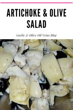 Perfect summer salad and super quick to put together! Fancy Meals, Quick Meals, I Foods, Healthy Foods, Healthy Recipes, Olive Salad, Garlic Olive Oil, Personal Recipe, Dinner Party Recipes
