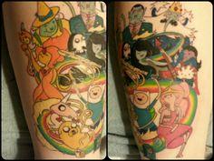 adventure time tattoo
