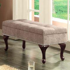 Williams Import Co. Oriel Storage Bedroom Bench & Reviews | Wayfair