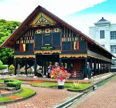 Rumah Bolaang Mongondow Rumah Adat Sulawesi Utara Indonesian