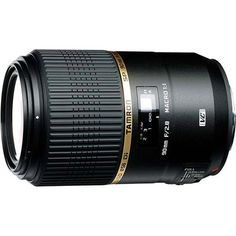 Tamron SP 90mm f/2.8 Di VC USD Macro lens information with detailed specifications, reviews and image samples.