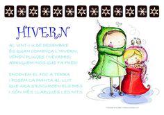 Els Petits Infants: Poemes hivern !!!! Winter House, Conte, Valencia, Homeschool, Comics, Infants, Kids, School, Poems