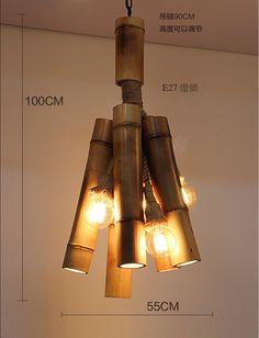 Envío-gratis-vendimia-país-de-américa-colgante-de-bambú-cama-comedor-lámparas-de-techo-restaurante-café.jpg (791×1035)