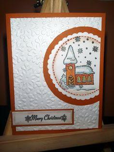 Kika's Designs : Snowy Christmas / Zasnežené Vianoce
