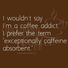 Definitely scary! Happy #CoffeeSmiles :)