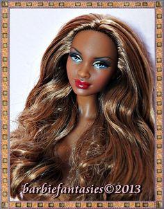 Barbie close-up. Latoya   BarbieFantasies