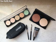 The MUFE Pros | 5 Camouflage Cream Palette, Sculpting Kit & Aqua Brow Kit | Gyudy's Notes Of Beauty