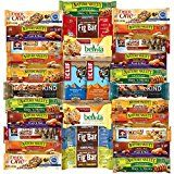 Ultimate Healthy Bars & Snack Office Care Package Includes Kind Cliff Belvita Nature Valley Fiber One & More Bulk Sampler (30 Count)