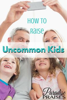Uncommon Kids, isn't that what we all want? Kids who stand out, and above the rest? This book is an uncommon parenting book, with practical applications for 12 biblical traits for parents and kids.