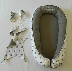 livushka / Vyšívané hniezdo pre bábätko - sivá hviezda Baby Nest, Baby Car Seats, Children, Embroidery, Young Children, Boys, Needlepoint, Kids, Child