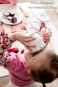 Pretend play in preparation for holiday dinners ... work on manners with your kids through play.