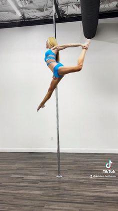 Pole Dance Moves, Pole Dancing Fitness, Pole Fitness, Workout Videos, Workouts, Fitness Goals, Fitness Motivation, Pole Tricks, Gymnastics Workout