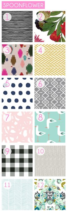 online fabric resources via emily henderson