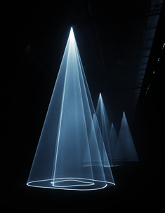Anthony McCall: Solid Light Works   Pioneer Works