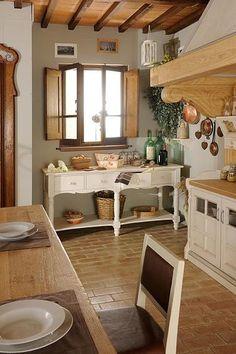 Cucina in muratura stile antico - Camini Fai da Te - Camini Milano ...