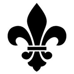 Fleur De Lis Themed Clip Art and Borders Art Clipart, Stencil Designs, Vinyl Designs, Symbole Tattoo, Logo Fleur, Image Svg, Clip Art, Thinking Day, Rangoli Designs