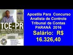 Apostila Concurso Analista de Controle Tribunal de Contas  | PARANÁ  2016 |