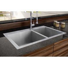 Atlantis – Pro Series Stainless Steel 60/40 Sink