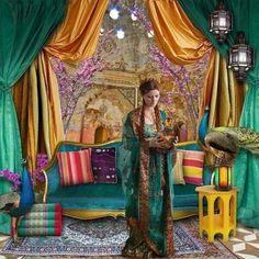 Moroccan Bohemian decor