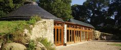 One of my favorite earthships, in Brittany, France. Available for rent along with the 17th century stone cottage also on the grounds.