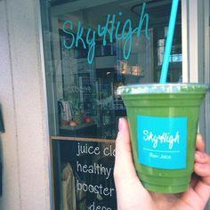 スカイハイ#スムージー#無農薬野菜と果物#フレッシュジュースバー#青山#渋谷