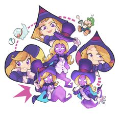 Nikki, Lindsey and Ginny. Mario Funny, Luigi's Mansion 3, Mario Fan Art, Really Fun Games, King Boo, Little Witch Academy, Mario Brothers, Love Drawings, Super Mario Bros