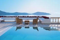 The Pool at the Elounda Gulf Villas & Suites in Greece