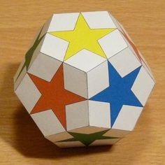 Building A Dodecahedron With 5 Different Cubes Whose Edges Are