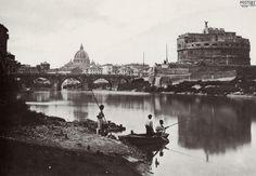 Rome. Castel Sant'Angelo. 1868.