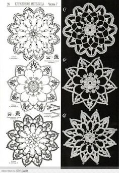 Patterns and motifs: Crocheted motif no. 1508