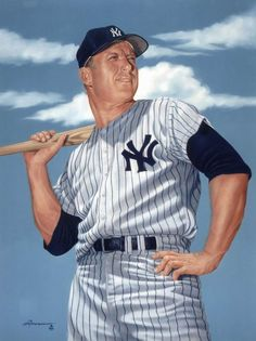 Former Yankees player Mickey Mantle is from Commerce, Oklahoma! :)